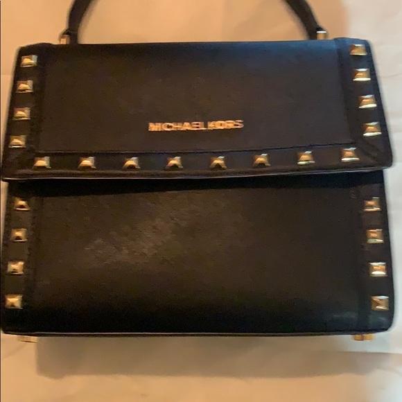 Michael Kors Handbags - Black leather Michael Kors bag